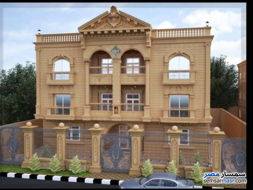 Photo 1 - Apartment 3 bedrooms 3 baths 190 sqm without finish For Sale Fifth Settlement Cairo