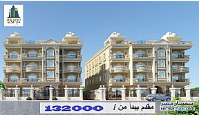 Apartment 3 bedrooms 3 baths 190 sqm semi finished For Sale North Extensions 6th of October - 1