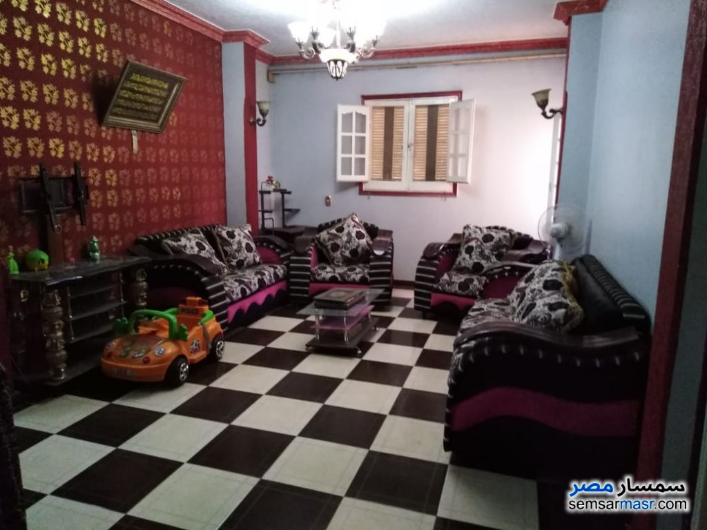 Photo 1 - Apartment 3 bedrooms 1 bath 95 sqm super lux For Sale Shubra El Kheima Qalyubiyah