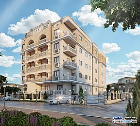 Ad Photo: Apartment 2 bedrooms 1 bath 98 sqm semi finished in New Heliopolis  Cairo