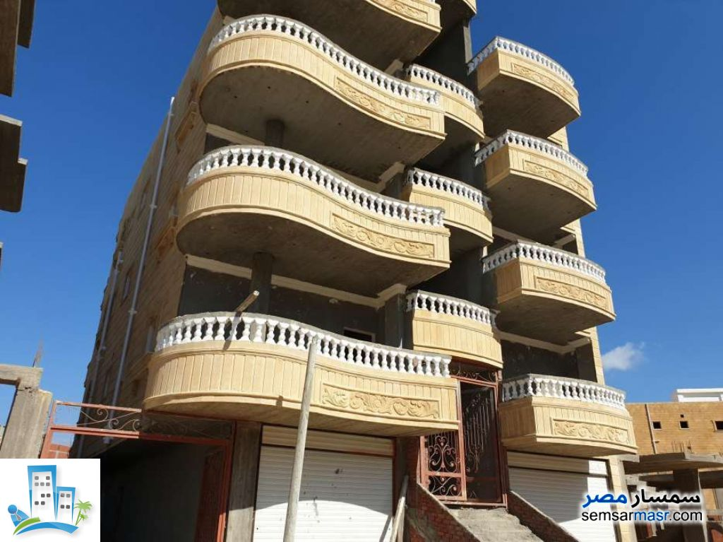 Ad Photo: Apartment 3 bedrooms 1 bath 95 sqm semi finished in Gamasa  Daqahliyah