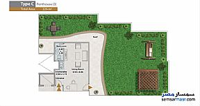 Apartment 3 bedrooms 4 baths 226 sqm extra super lux For Sale North Extensions 6th of October - 4