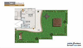 Apartment 3 bedrooms 4 baths 226 sqm extra super lux For Sale North Extensions 6th of October - 5