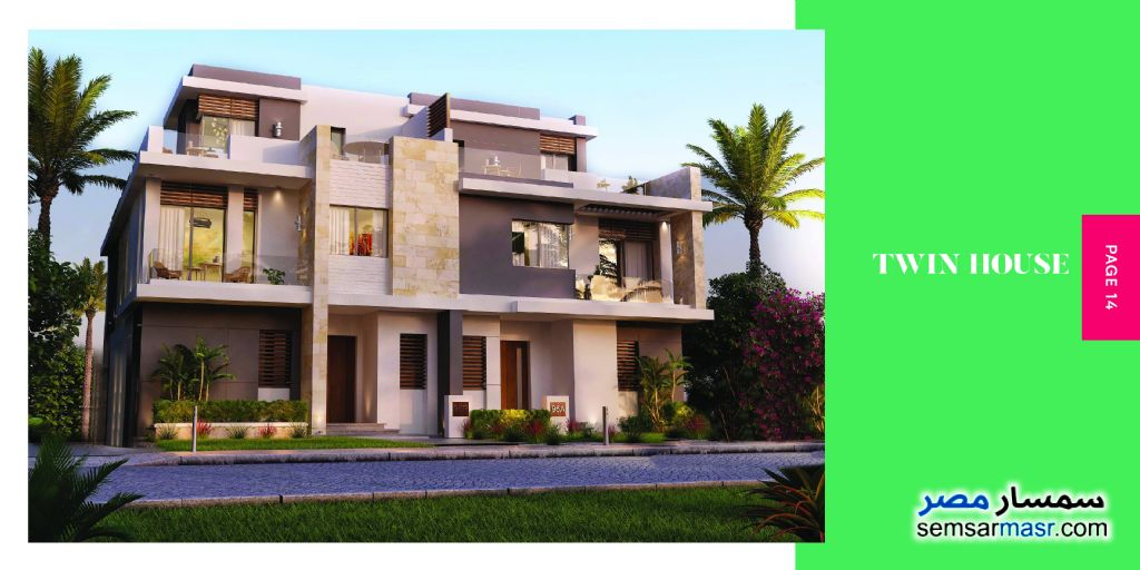 Ad Photo: Apartment 2 bedrooms 1 bath 180 sqm semi finished in Palm Hills  6th of October
