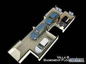 Villa 4 bedrooms 4 baths 410 sqm semi finished