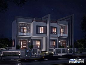 Ad Photo: Villa 4 bedrooms 4 baths 406 sqm semi finished in Mukhabarat Land  6th of October