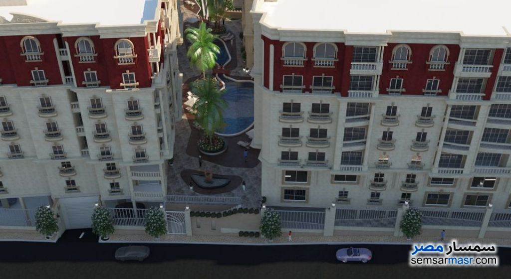 Ad Photo: Apartment 2 bedrooms 2 baths 128 sqm super lux in Mokattam  Cairo