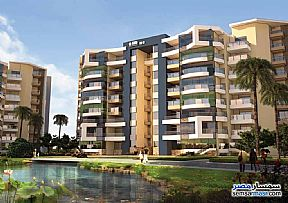 Ad Photo: Apartment 3 bedrooms 2 baths 157 sqm extra super lux in New Capital  Cairo
