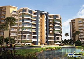 Ad Photo: Apartment 1 bedroom 1 bath 95 sqm extra super lux in New Capital  Cairo