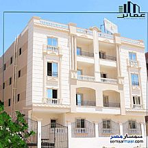 Apartment 3 bedrooms 2 baths 131 sqm semi finished For Sale Shorouk City Cairo - 2