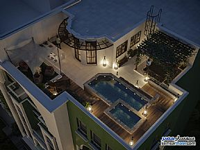 Apartment 4 bedrooms 4 baths 170 sqm semi finished For Sale New Capital Cairo - 2
