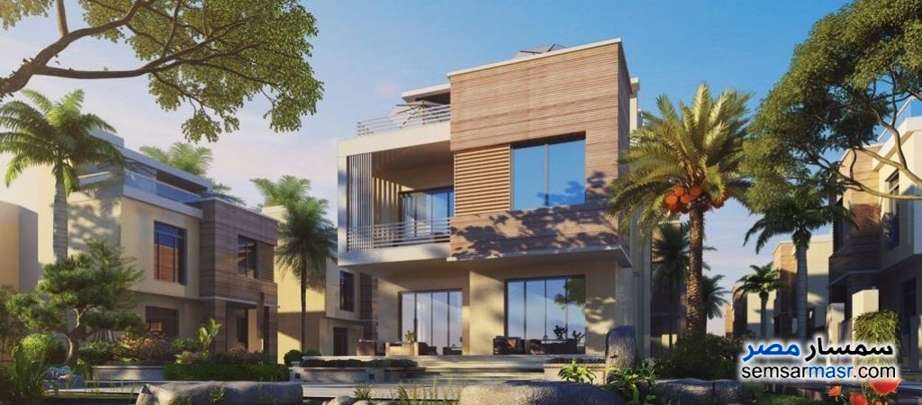 Ad Photo: Villa 4 bedrooms 4 baths 191 sqm without finish in New Cairo  Cairo