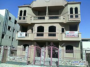 Ad Photo: Villa 5 bedrooms 3 baths 300 sqm semi finished in West Somid  6th of October
