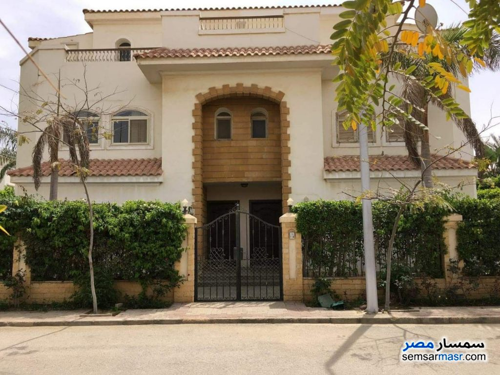 Photo 1 - Villa 3 bedrooms 3 baths 550 sqm super lux For Rent Districts 6th of October