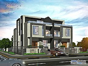 Ad Photo: Apartment 4 bedrooms 4 baths 434 sqm semi finished in 6th of October