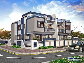 Ad Photo: Villa 4 bedrooms 4 baths 440 sqm semi finished in Districts  6th of October