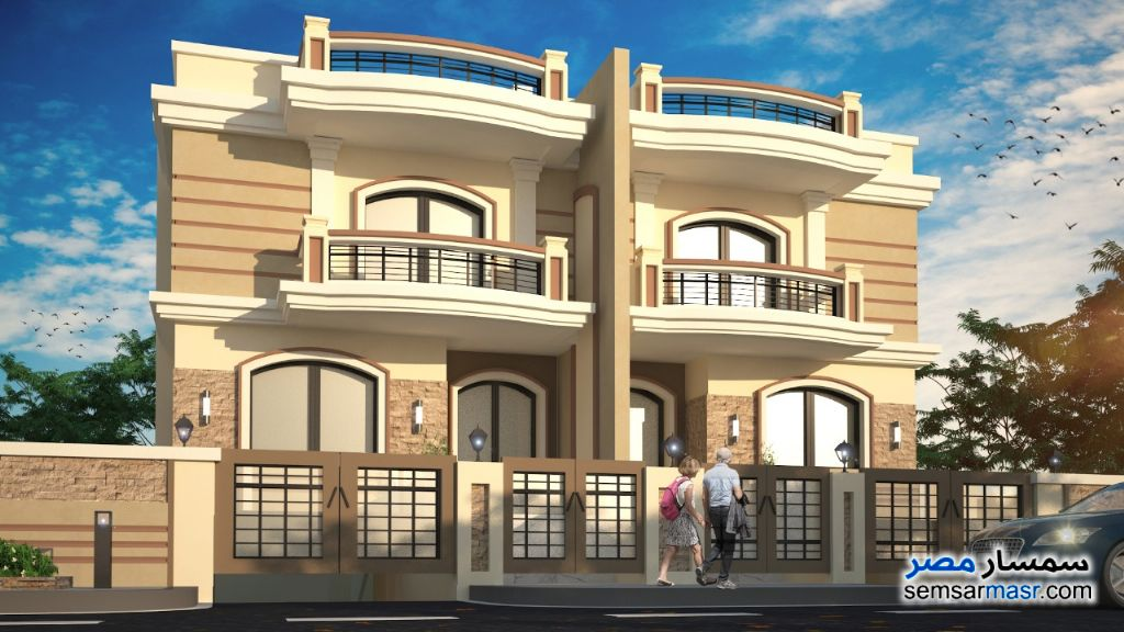 Photo 1 - Villa 4 bedrooms 3 baths 480 sqm semi finished For Sale Mukhabarat Land 6th of October
