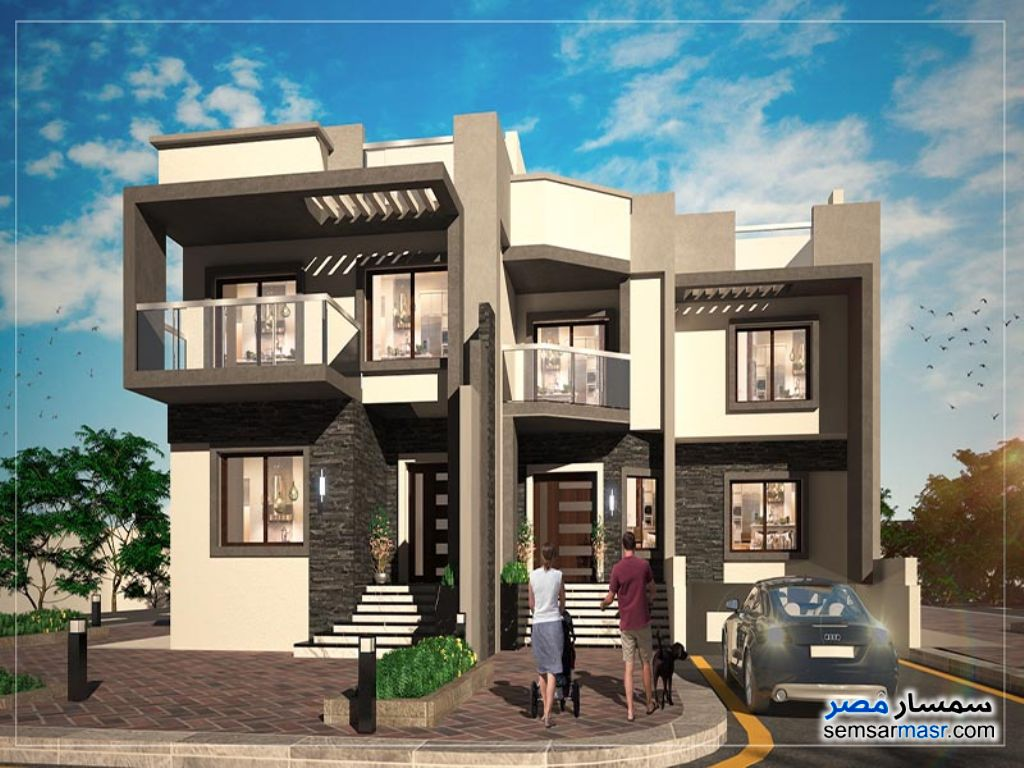 Ad Photo: Villa 4 bedrooms 4 baths 574 sqm semi finished in 6th of October