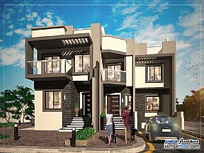 Ad Photo: Villa 4 bedrooms 4 baths 574 sqm semi finished in Dreamland  6th of October