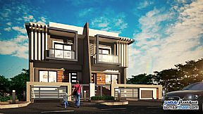 Ad Photo: Villa 3 bedrooms 3 baths 365 sqm semi finished in 6th of October