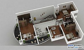 Apartment 4 bedrooms 4 baths 404 sqm semi finished For Sale Districts 6th of October - 3