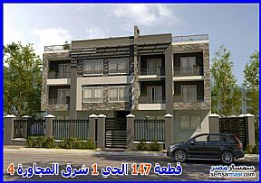 Ad Photo: Apartment 3 bedrooms 3 baths 333 sqm semi finished in Shorouk City  Cairo