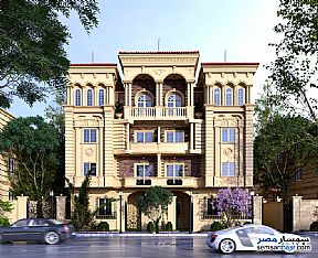 Ad Photo: Apartment 3 bedrooms 3 baths 278 sqm semi finished in Shorouk City  Cairo