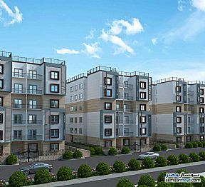 Ad Photo: Apartment 3 bedrooms 2 baths 180 sqm without finish in October Gardens  6th of October