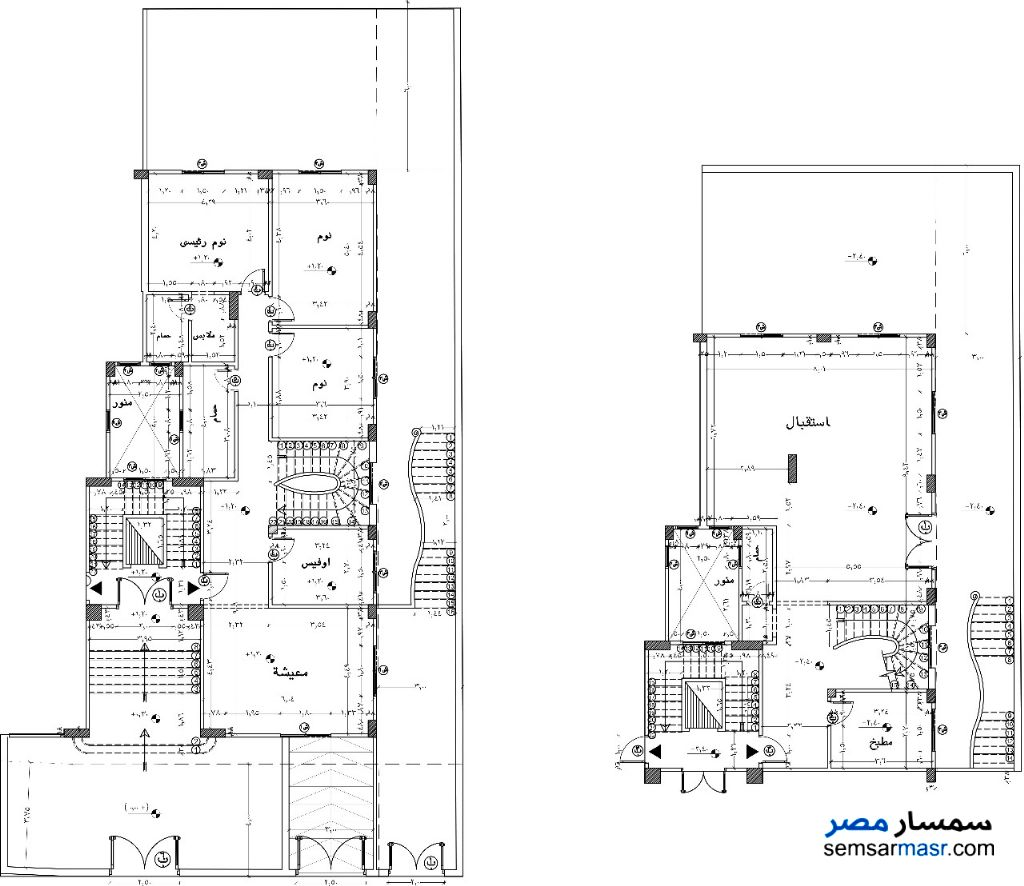 Photo 2 - Apartment 6 bedrooms 3 baths 335 sqm without finish For Sale Fifth Settlement Cairo