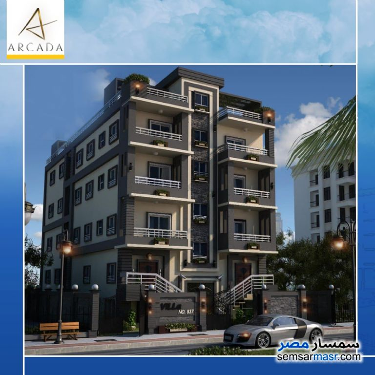 Ad Photo: Apartment 5 bedrooms 3 baths 260 sqm semi finished in North Extensions  6th of October