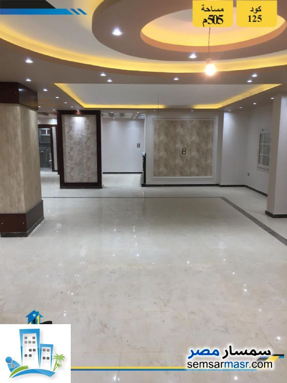 Ad Photo: Apartment 5 bedrooms 4 baths 505 sqm extra super lux in Hadayek Al Ahram  Giza
