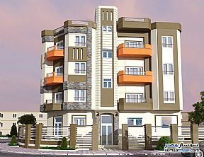 Ad Photo: Apartment 4 bedrooms 3 baths 299 sqm semi finished in Mukhabarat Land  6th of October