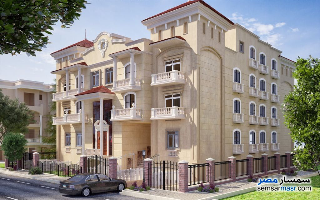 Photo 1 - Apartment 5 bedrooms 3 baths 369 sqm semi finished For Sale Shorouk City Cairo