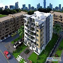 Ad Photo: Apartment 3 bedrooms 1 bath 90 sqm without finish in October Gardens  6th of October