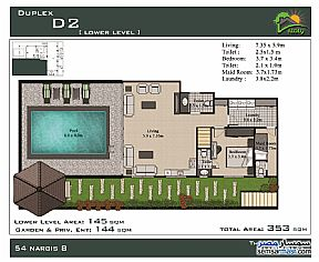 Ad Photo: Apartment 6 bedrooms 5 baths 386 sqm semi finished in First Settlement  Cairo