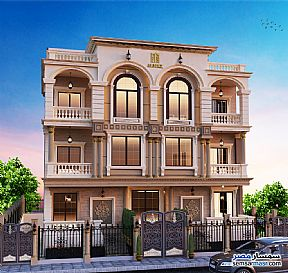 Ad Photo: Apartment 4 bedrooms 4 baths 300 sqm semi finished in North Extensions  6th of October