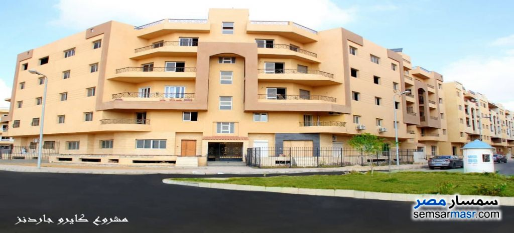 Ad Photo: Apartment 3 bedrooms 3 baths 343 sqm semi finished in North Extensions  6th of October