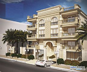 Ad Photo: Apartment 4 bedrooms 3 baths 323 sqm semi finished in First Settlement  Cairo