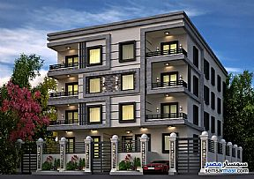 Ad Photo: Apartment 4 bedrooms 5 baths 390 sqm semi finished in North Extensions  6th of October