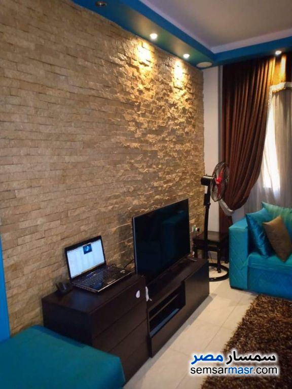 Photo 1 - Apartment 1 bedroom 1 bath 65 sqm extra super lux For Rent Rehab City Cairo