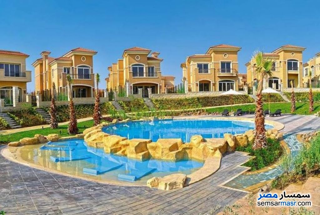 Photo 8 - Villa 5 bedrooms 5 baths 480 sqm semi finished For Sale Fifth Settlement Cairo