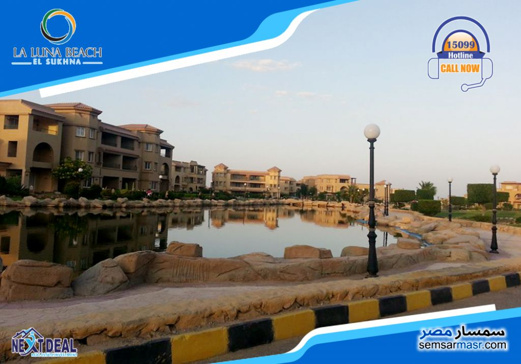 Photo 1 - Apartment 3 bedrooms 3 baths 213 sqm super lux For Sale La Luna Beach Ain Sukhna