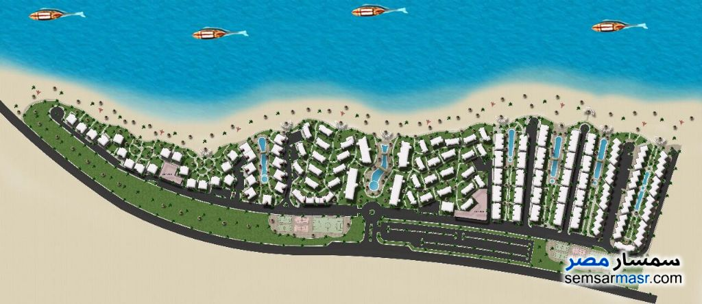 Photo 5 - Apartment 2 bedrooms 2 baths 76 sqm extra super lux For Sale Coronado Marina El Sokhna Ain Sukhna