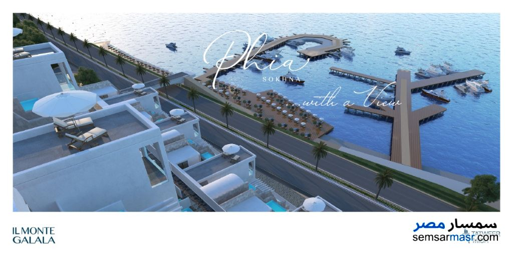 Ad Photo: Apartment 3 bedrooms 2 baths 127 sqm super lux in Ain Sukhna  Suez