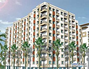 Ad Photo: Apartment 3 bedrooms 3 baths 165 sqm without finish in Al Salam City  Cairo