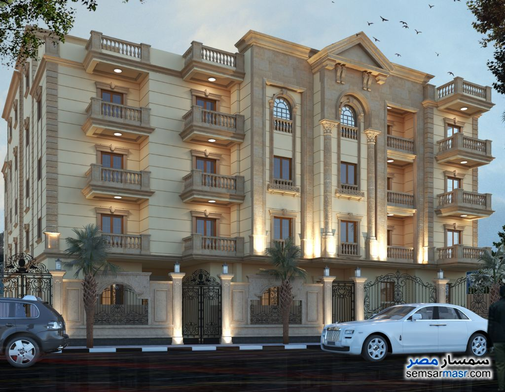 Photo 2 - Apartment 4 bedrooms 3 baths 251 sqm semi finished For Sale Mukhabarat Land 6th of October
