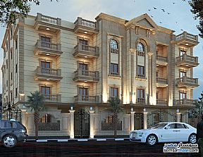 Apartment 4 bedrooms 3 baths 251 sqm semi finished For Sale Mukhabarat Land 6th of October - 2