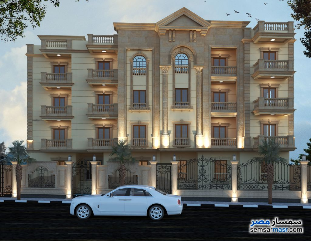 Photo 3 - Apartment 4 bedrooms 3 baths 251 sqm semi finished For Sale Mukhabarat Land 6th of October