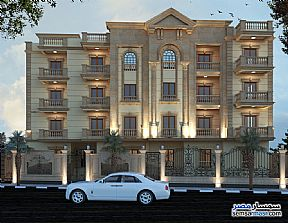 Apartment 4 bedrooms 3 baths 251 sqm semi finished For Sale Mukhabarat Land 6th of October - 3