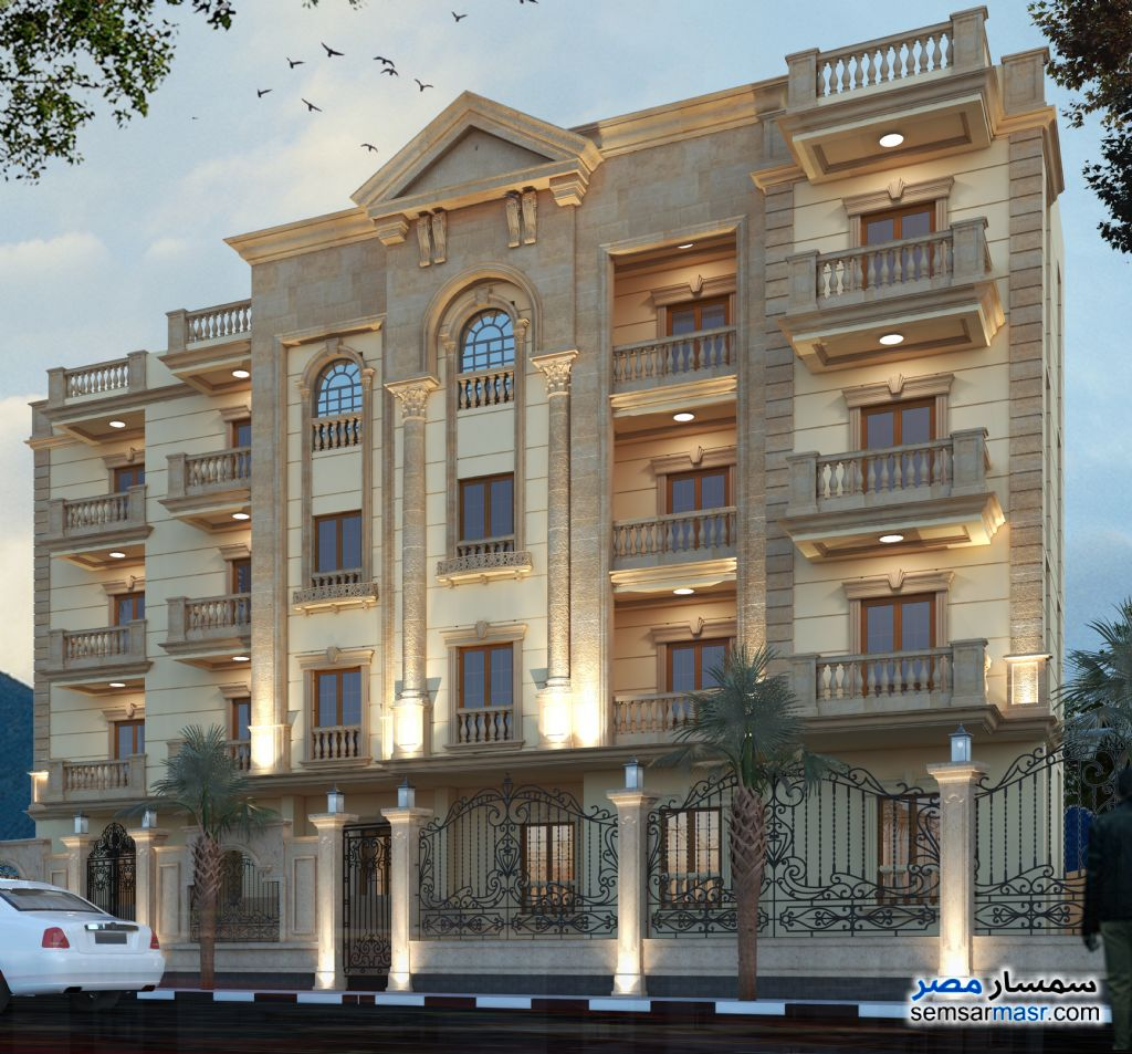 Photo 4 - Apartment 4 bedrooms 3 baths 251 sqm semi finished For Sale Mukhabarat Land 6th of October